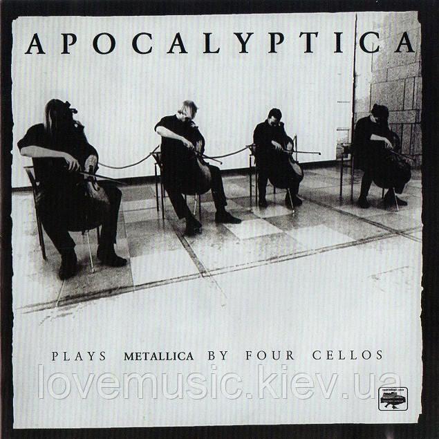 Музичний сд диск APOCALYPTICA Plays Metallica by four cellos (1996) (audio cd)