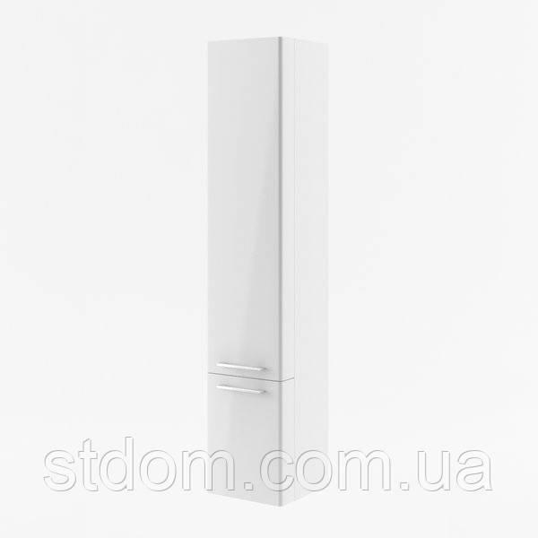 Пенал подвесной Ravak Ring R правосторонний X000000773 фасад белый