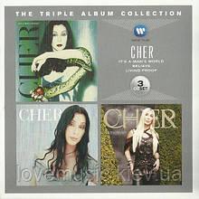Музичні сд диск CHER The triple album collection (2012) (audio cd)