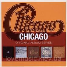 Музичні сд диски CHICAGO Original album series (2010) (audio cd)