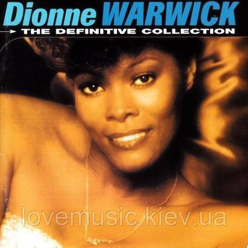 Музичний сд диск DIONNE WARWICK Definitive collection (1999) (audio cd)