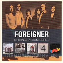 Музичні сд диски FOREIGNER Original album series (2009) (audio cd)
