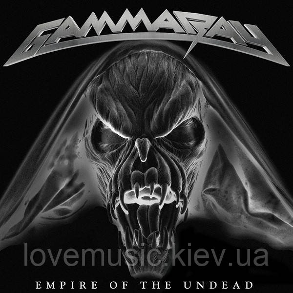 Музичний сд диск GAMMA RAY Empire of the undead (2014) (audio cd)
