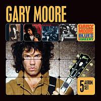 Музыкальный сд диск GARY MOORE 5 Album set (2002) (audio cd)