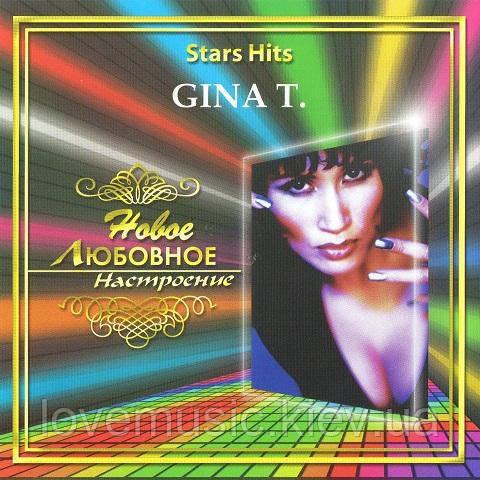 Музичний сд диск GINA T. Star hits (2006) (audio cd)