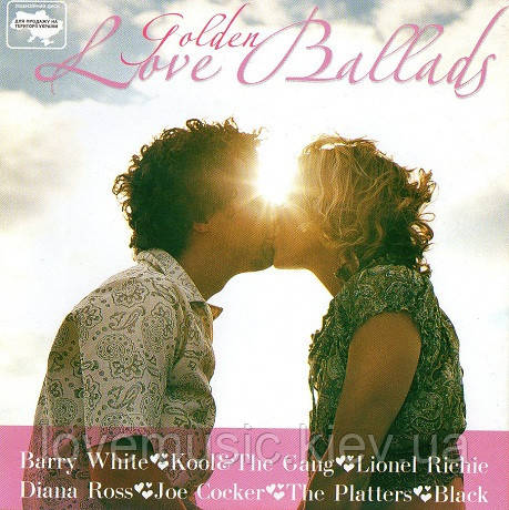 Музичний сд диск GOLDEN LOVE BALLADS (2004) (audio cd)