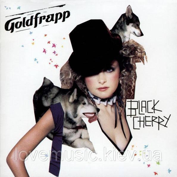 Музичний сд диск GOLDFRAPP Black cherry (2003) (audio cd)