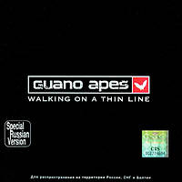 Музыкальный сд диск GUANO APES Walking on a thin line (2003) (audio cd)