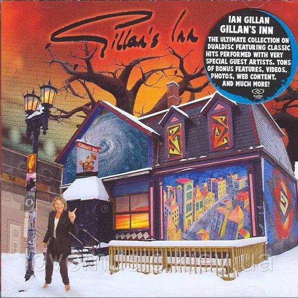Музичний сд диск IAN GILLAN Gillan's Ian (2006) CD + DVD (audio cd)