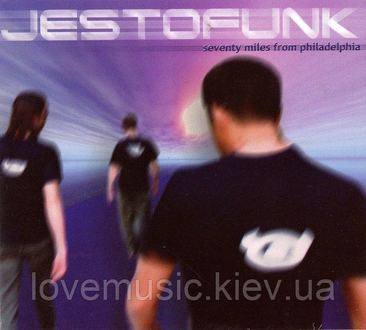 Музичний сд диск JESTOFUNK Seventy miles from Philadelphia (2006) (audio cd)