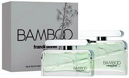 Мужская оригинальная парфюмированная вода Franck Olivier BAMBOO Men 50ml NNR ORGAP /05-21