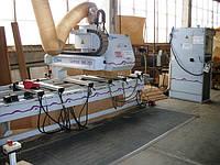 Weeke BHC250 обрабатывающий центр с ЧПУ бу 2003 г. выпуска для производства фасадов из MDF