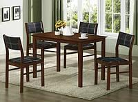 Комплект Матео. Набор мебели из дерева, стол и 4 стула