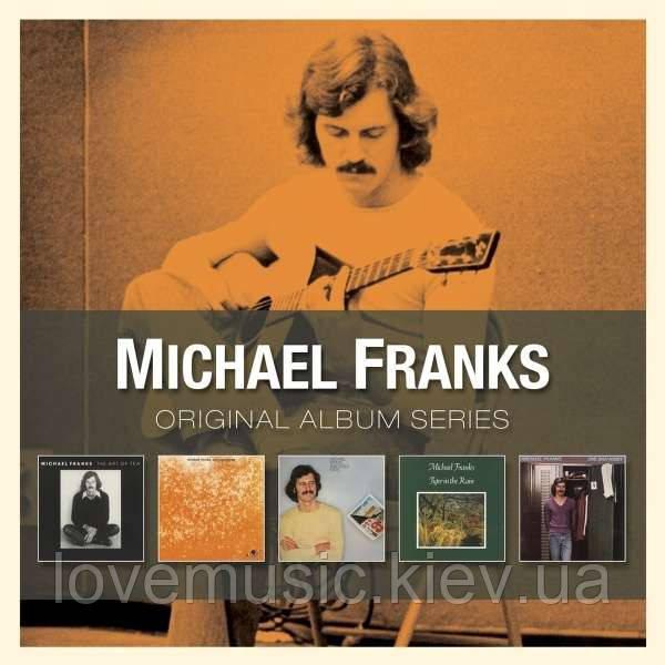 Музичні сд диски MICHAEL FRANKS Original album series (2012) (audio cd)