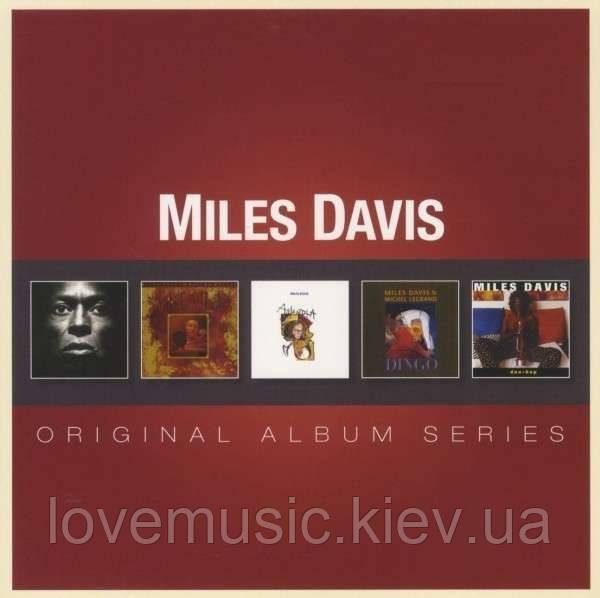 Музичні сд диски MILES DAVIS Original album series (2012) (audio cd)
