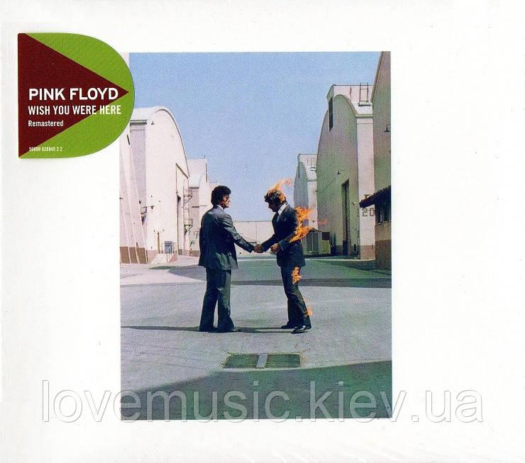Музичний сд диск PINK FLOYD Wish you were here (1975) (audio cd)