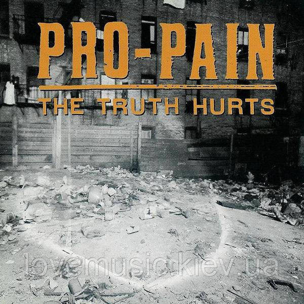 Музичний сд диск PRO–PAIN The truth hurts (1994) (audio cd)