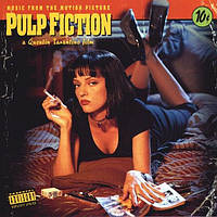 Музыкальный сд диск PULP FICTION (1994) (Music From The Motion Picture) (audio cd)