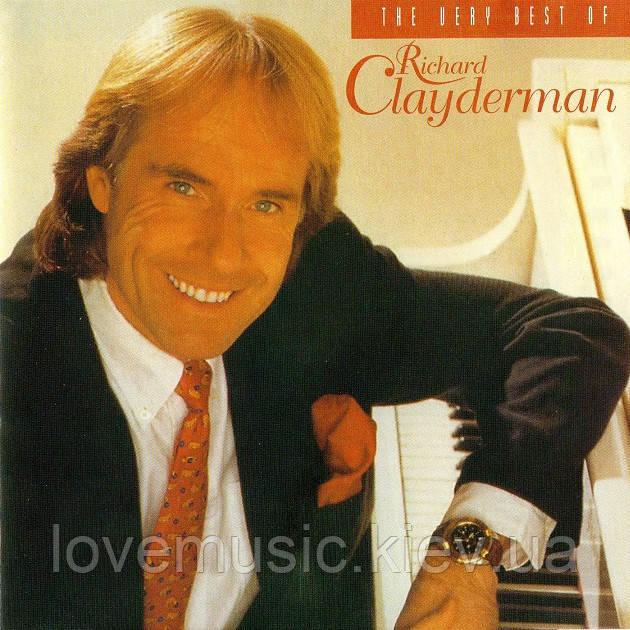 Музичний сд диск RICHARD CLAYDERMAN The best of (1995) (audio cd)