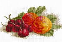 """Набор для вышивки крестом """"Натюрморт с персиком"""""""
