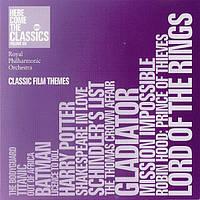 Музичний сд диск ROYAL PHILHARMONIC ORCHESTRA Classic film themes (2002) (audio cd)