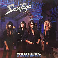 Музичний сд диск SAVATAGE Streets (A rock opera) (2011) (audio cd)