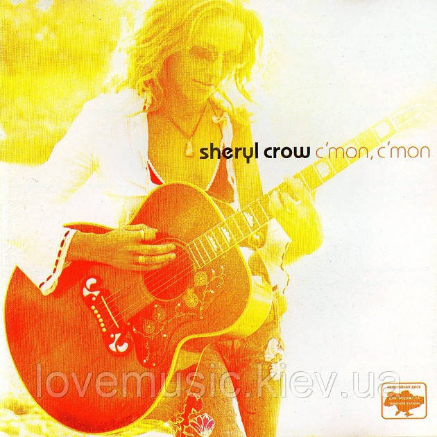 Музичний сд диск SHERYL CROW C'mon, c'mon (2002) (audio cd)