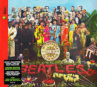 Музичний сд диск THE BEATLES Sgt. Peppers lonely hearts club band (1967) (audio cd)