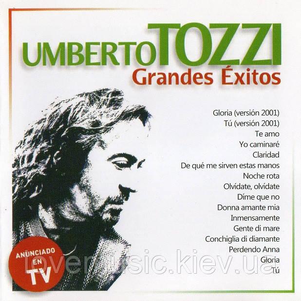 Музичний сд диск UMBERTO TOZZI Grandes exitos (2001) (audio cd)