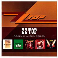 Музыкальный сд диск ZZ TOP Original album series (2011) (audio cd)