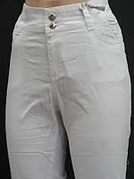 Белые летние штанишки (полубатал)