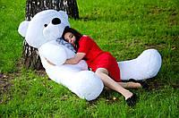 Большой плюшевый мишка Нестор 180 см.Мягкая игрушка.игрушка медведь.мягкие игрушки украина Белый