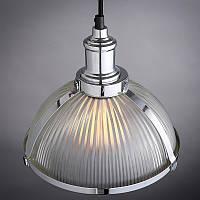 Светильник потолочный [ Loft Classic glass ] chrome