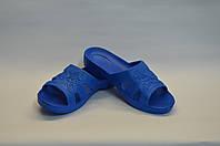 Женские шлепанцы оптом синие ПЖ - 21 пена, фото 1