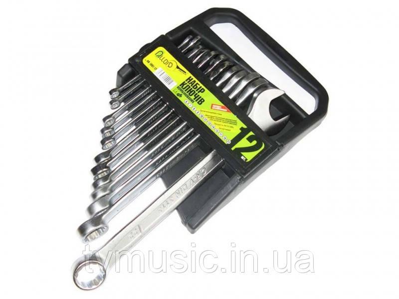 Набор комбинированных ключей Alloid 12 предметов (НК-1061-12)