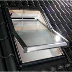 Мансардное окно Designo R45 ПВХ  74/140