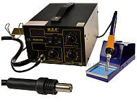 Термоповітряна паяльна станція W.E.P 852D+SE 100-500°C/100-500°C 75W HAKKO 2LED