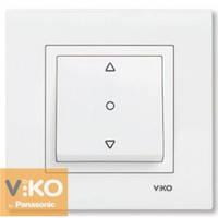 Выключатель для жалюзи белый VI-KO KARRE