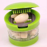 Измельчитель чеснока Garlic Chopper, овощерезка для чеснока, 2 насадки.