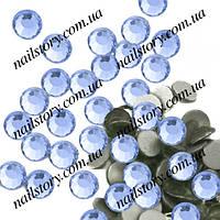 Стразы для ногтей Light blue SS3  50 шт.