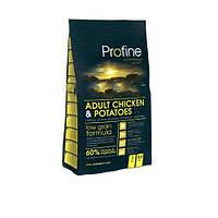 Profine Adult Chicken 3 кг, курица - сухой корм для взрослых собак средних и мелких пород