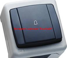 Кнопка звонка MAKEL IP55 PLUS серая (Турция)