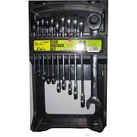 Набор ключей комбинированных и трещоточных Alloid 11 предметов (НК-2081-11)