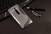 Силиконовый чехол Duotone для Motorola MOTO X Style(XT1570)серый