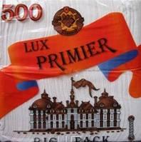 Салфетка PRIMIER белая с этикеткой 500