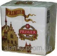Салфетка PRIMIER белая 100