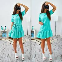 83c82cd1491b97f Платье летнее в клетку с ассиметричным низом SM183, цена 300 грн ...
