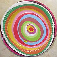 Тарелка Разноцветные кружочки