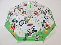 Детский зонт Disney 5-9 лет Микки маус, Минни Маус,