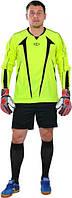 Футбольная вратарская форма Europaw (Салатовая) с шортами, фото 1